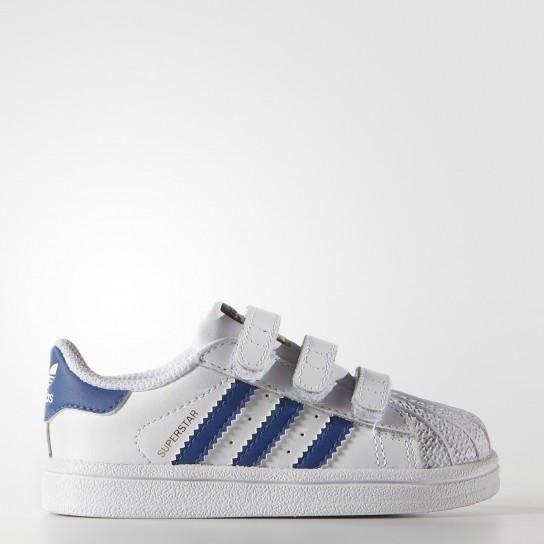 Adidas Superstar Foundation CF I - Azul/Branca