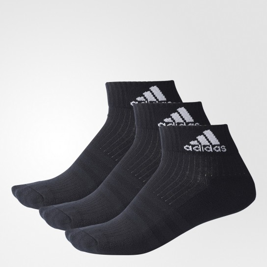 Meias 3S Perf Ankle Half Cushioned 3PP Adidas