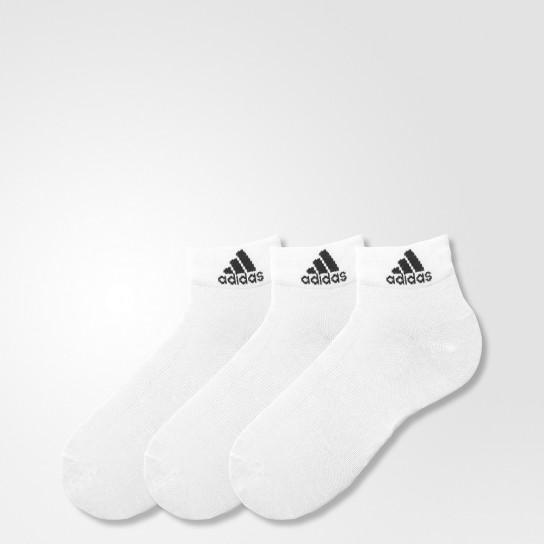 Meias Adidas Performance Thin Ankle - Brancas