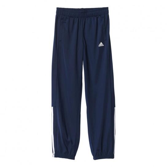 Calça criança Adidas Essentials 3 Stripes - Azul