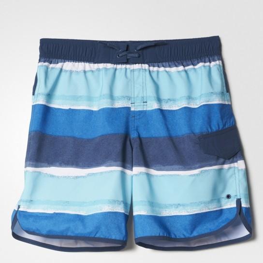 Calção Stripes Cl Adidas - Azul