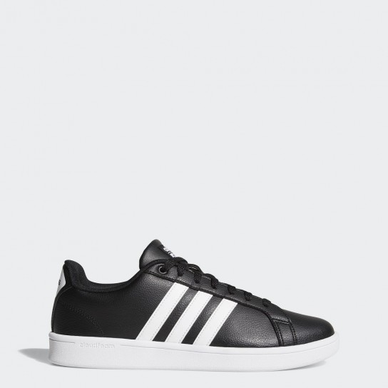 Adidas Cloudfoam Advantage - Preto/Branco