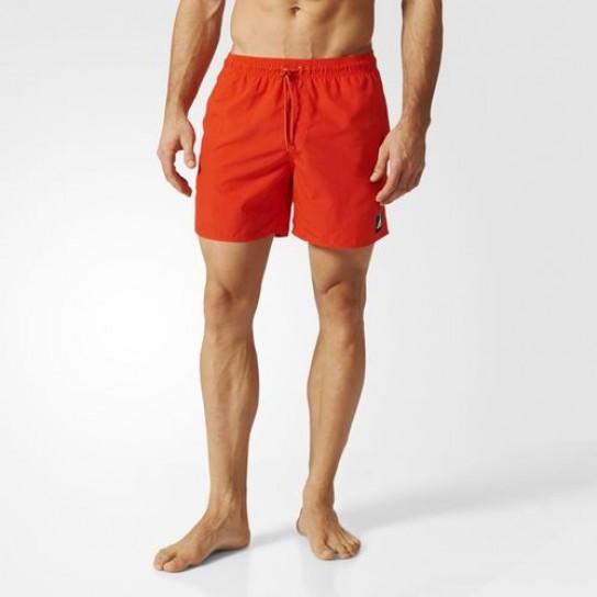 Calção Solid SL Adidas - Vermelho
