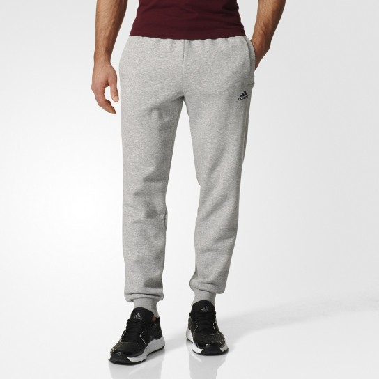 Calça Adidas Essentials Tapered Fleece Pant - Cinza