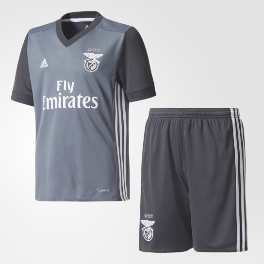 Kit Junior Alternativo Sport Lisboa Benfica 17/18 Adidas