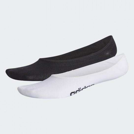 Meias Adidas Neo Pattern - Preto/Branco