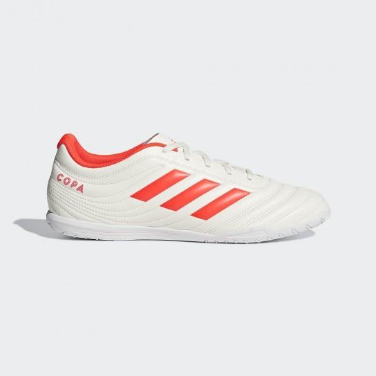 Adidas Copa 19.4 In - Branca/Laranja