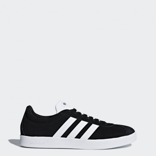 Adidas VL Court 2.0 - Preto/Branco