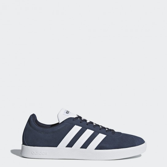 Adidas VL Court 2.0 - Azul/Branco