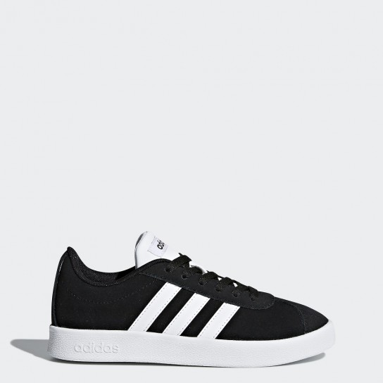 Adidas VL Court 2.0 K  - Preto/Branco