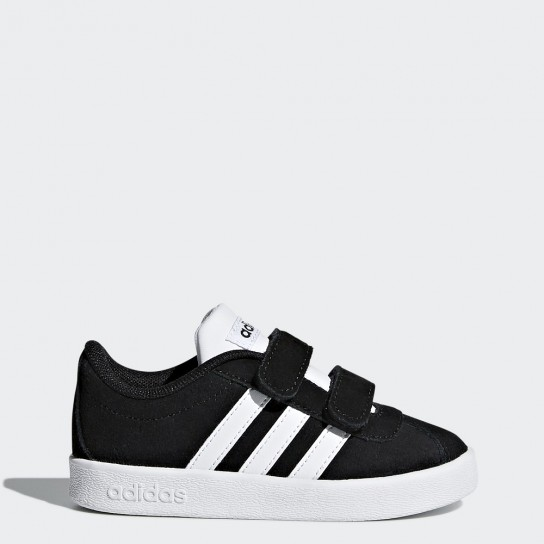 Adidas VL Court 2.0 Cmf I - Preto/Branco