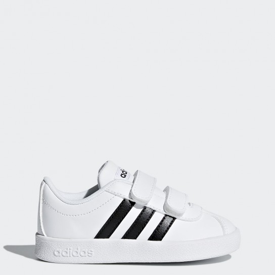 Adidas VL Court 2.0 CMF I - Branco/Preto