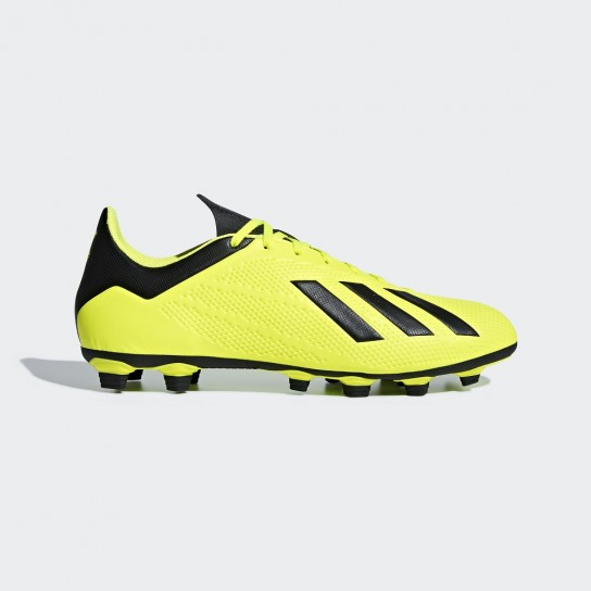 Adidas X 18.4 FG - Amarelo
