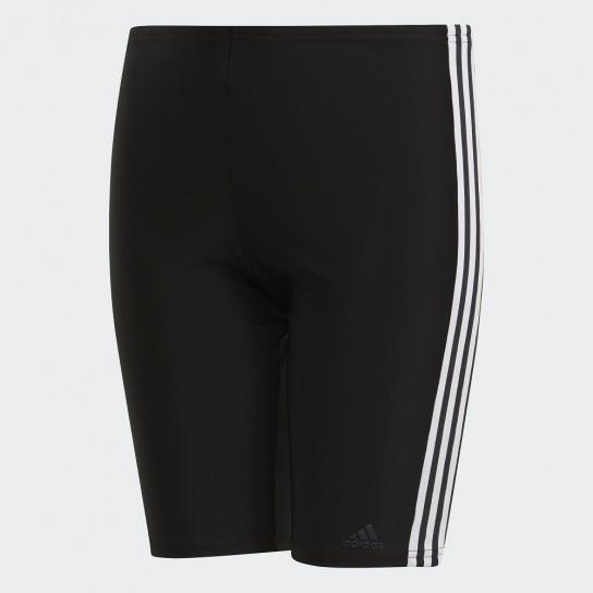 Boxer Natação Adidas Fitness 3 Stripes - Preto