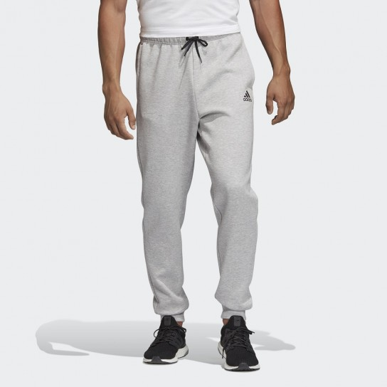 Calças Adidas Must Haves Tapered Plain - Cinza