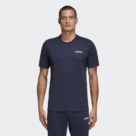 T-shirt Adidas Essentials Plain - Azul