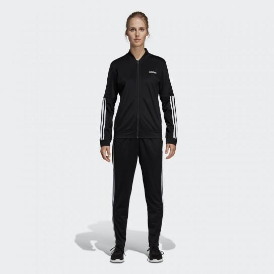 Fato De Treino Adidas Back 2 Basics 3 Stripes - Preto