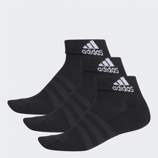 Meias Adidas Cushioned Ankle 3PP - Preto