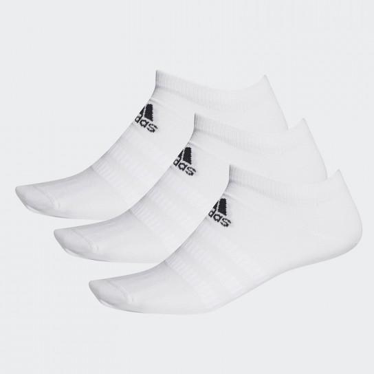 Meias Adidas Light Low 3PP - Branco