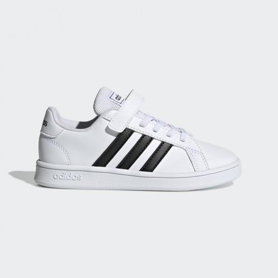 Adidas Grand Court C - Branco/Preto