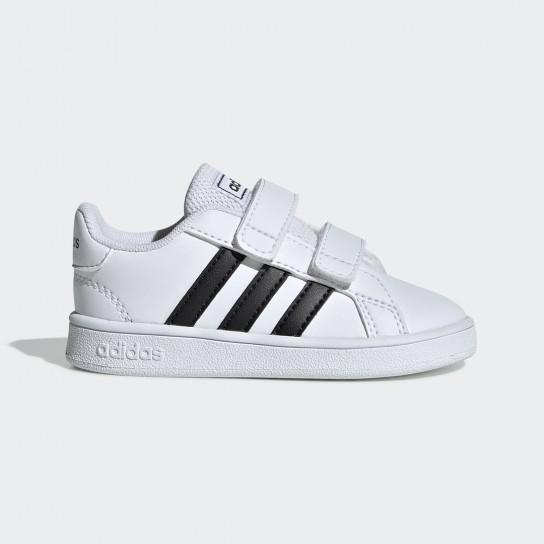 Adidas Grand Court I - Branco/Preto