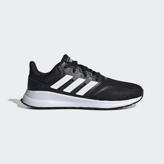 Adidas RunFalcon K - Preto/Branco