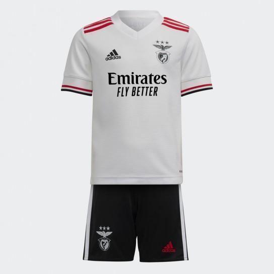 Adidas Mini Kit Sport Lisboa e Benfica Away -2021/2022