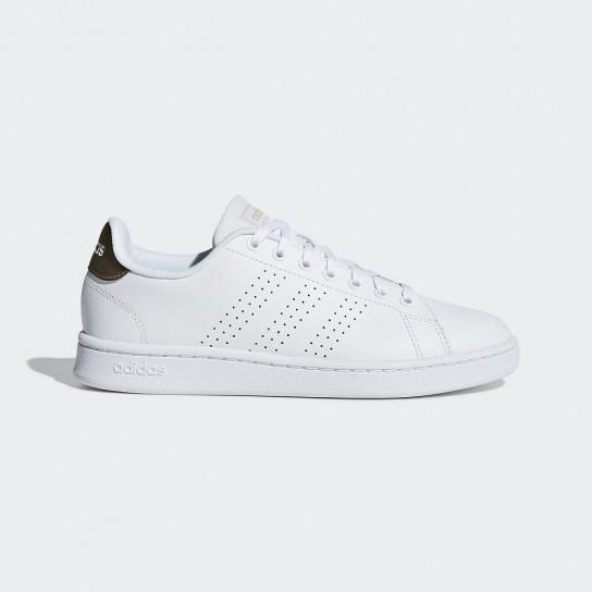 Adidas Advantage - Branco/Dourado