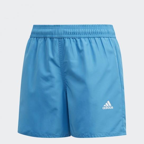 Calção Adidas Classic Badge of Sports JR - Azul