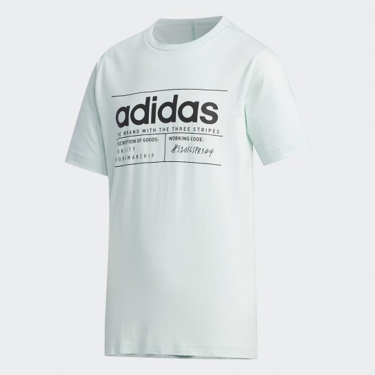T-shirt Adidas Brilliant Basic Boys - verde