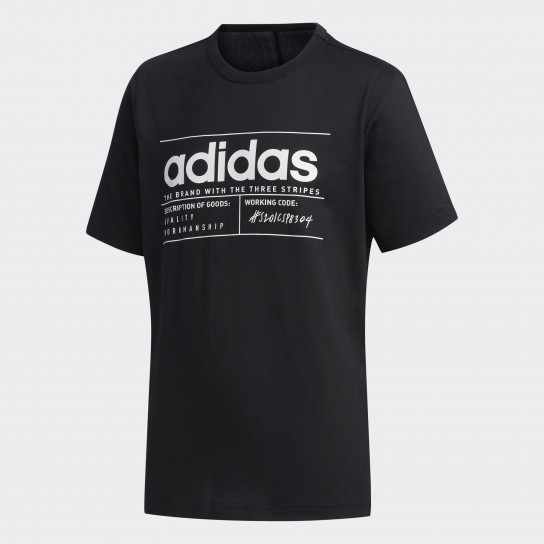 T-shirt Adidas Youth Boys Brilliant Basic - Preta