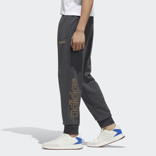 Calça Adidas Essential Branded - Cinzento