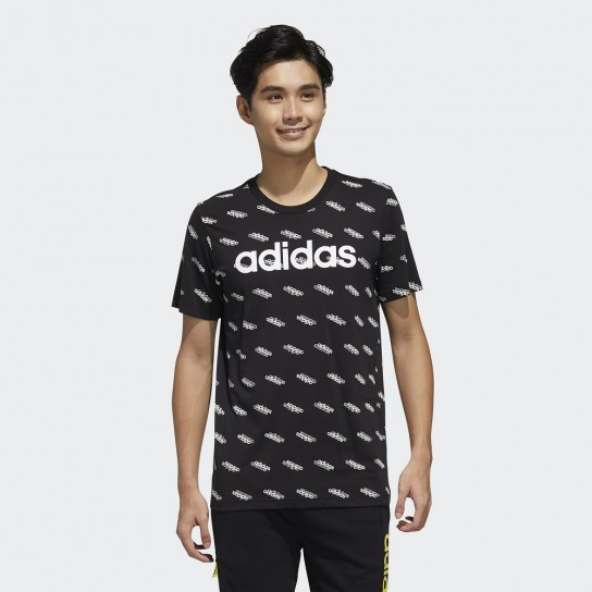 T-shirt Adidas Men Favourites - Preto