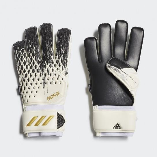 Luvas Guarda Redes Adidas Predator Match Fingersave - Branco