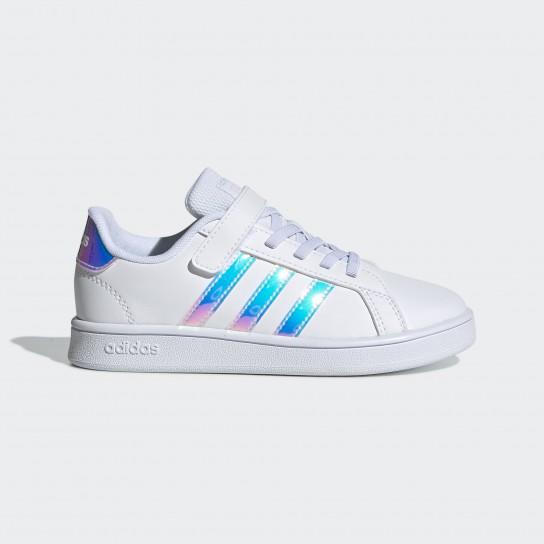 Adidas Grand Court C - Branco/Holográfico