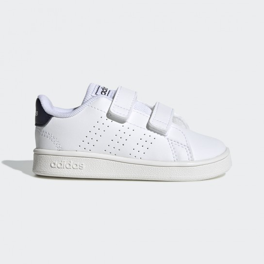 Adidas Advantage Inf - Branco/Azul