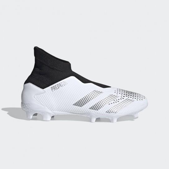 Adidas Predator 20.3 LL FG - Branca/Preta