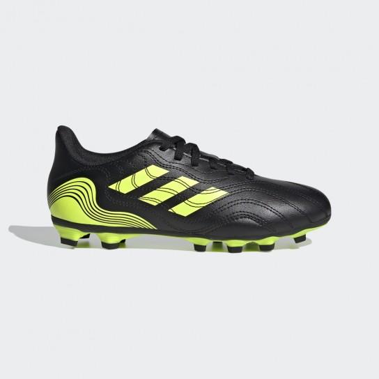 Adidas Copa Sense.4 FXG J - Preta/Amarela