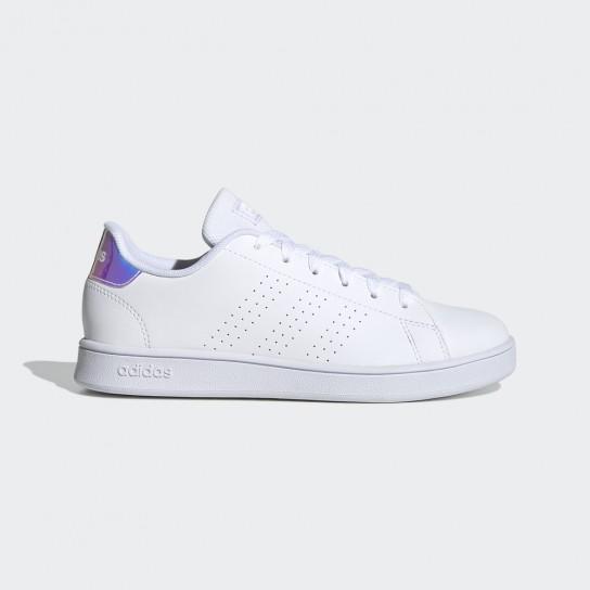 Adidas Advantage K - Branco/Holográfico