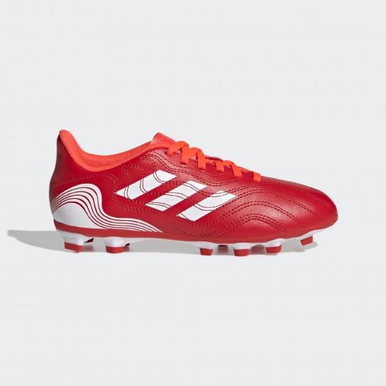 Adidas Copa Sense .4 FxG J - Vermelho