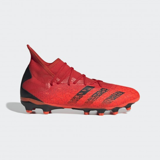 Adidas Predator Freak .3 MG - Vermelho