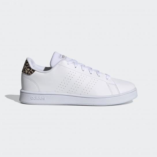 Adidas Advantage K - Branco/Leopardo