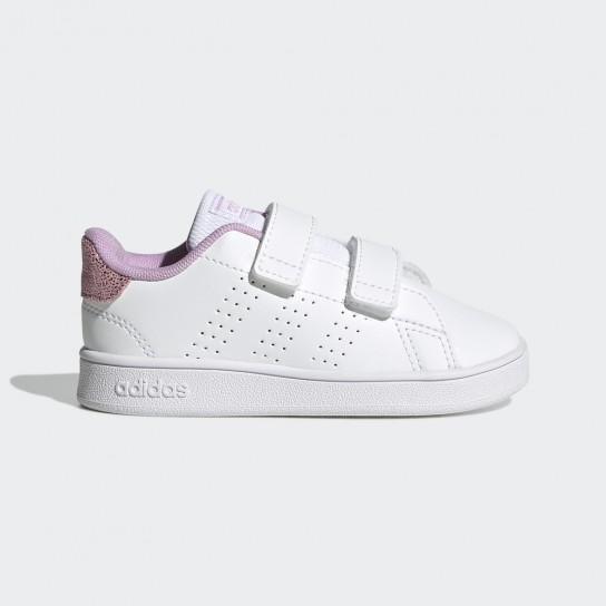 Adidas Advantage I - Branco/Lilás