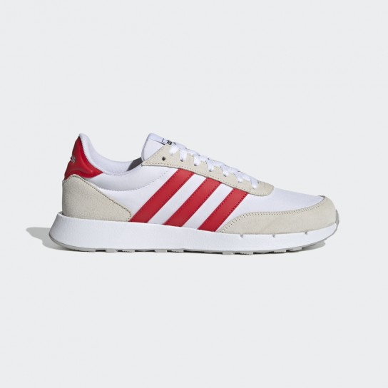 Adidas Run 60´S 2.0 - Branca/Vermelha