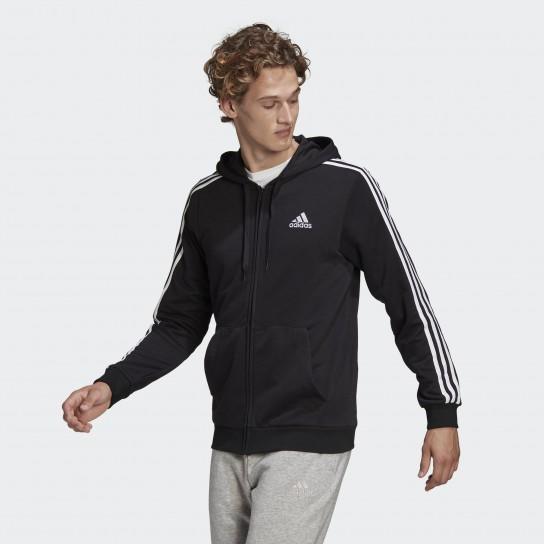 Casaco Adidas 3 Stripes Essentials - Preto