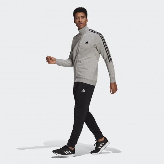 Fato de Treino Adidas M 3 Stripes - Cinzento