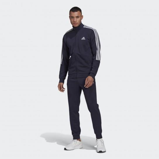 Fato Treino Adidas M 3 Stripes - Azul