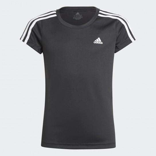 T-shirt Adidas Girls Designed 2 Move 3-stripes
