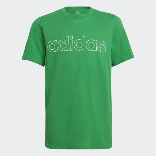 T-shirt Adidas Boys Essentials Logo - Verde