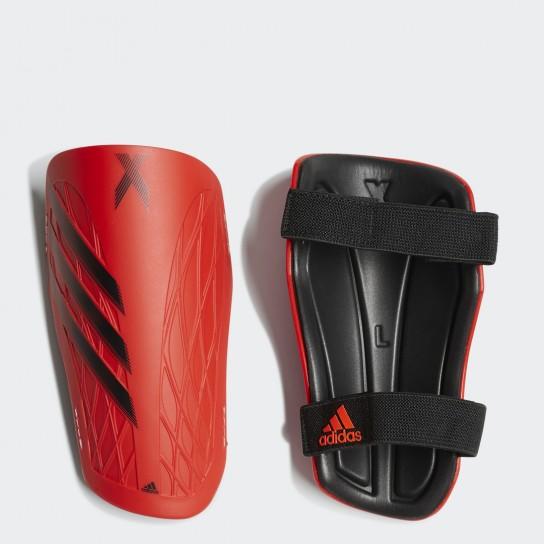 Caneleiras Adidas X SG TRN - Vermelho